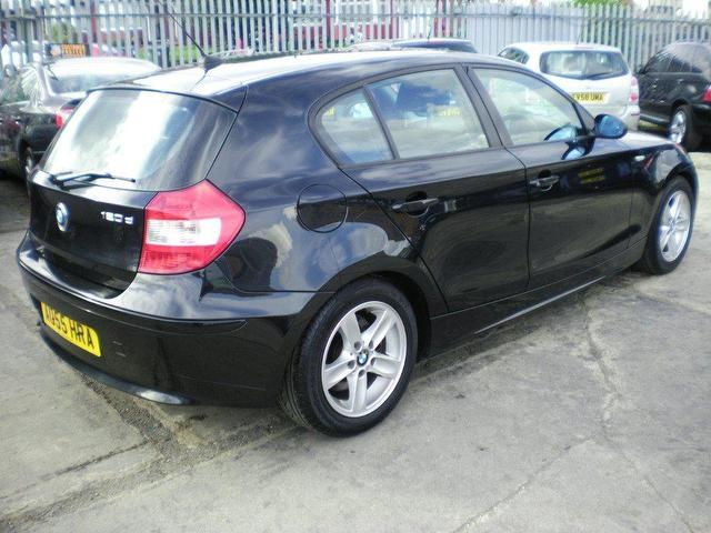 used 2005 bmw 1 series hatchback black edition 120d sport. Black Bedroom Furniture Sets. Home Design Ideas
