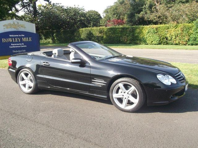 Used Mercedes Benz 2005 Black Convertible Petrol Automatic for Sale