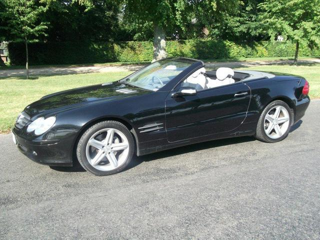 Used mercedes benz 2005 petrol class sl 500 7 for Used convertible mercedes benz for sale