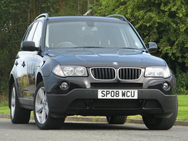 used 2008 bmw x3 4x4 black edition se 5dr diesel for. Black Bedroom Furniture Sets. Home Design Ideas