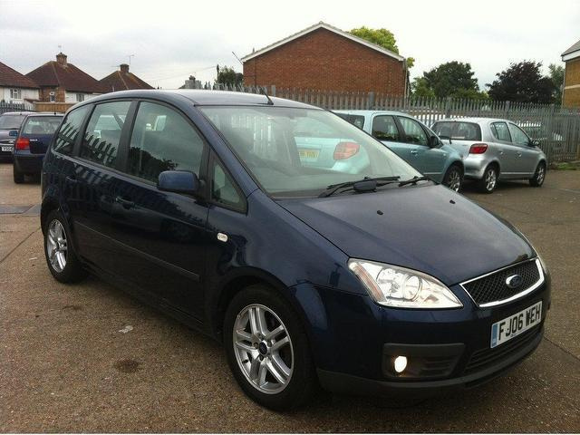 used blue ford focus 2006 diesel c max 1 6 tdci zetec. Black Bedroom Furniture Sets. Home Design Ideas