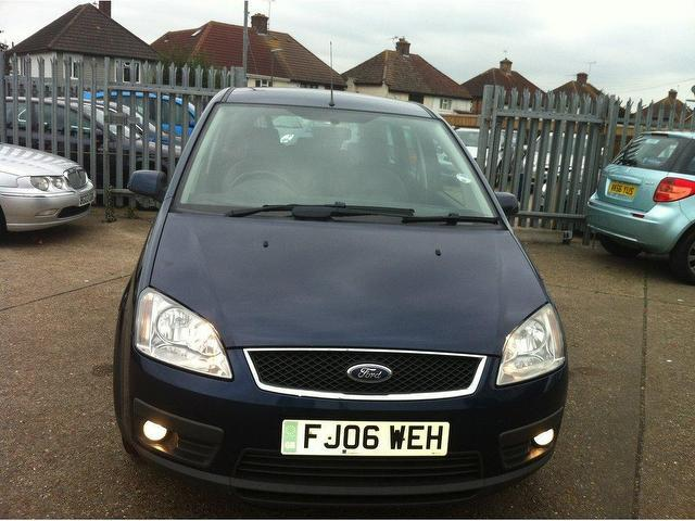used blue ford focus 2006 diesel c max 1 6 tdci zetec estate excellent condition for sale. Black Bedroom Furniture Sets. Home Design Ideas