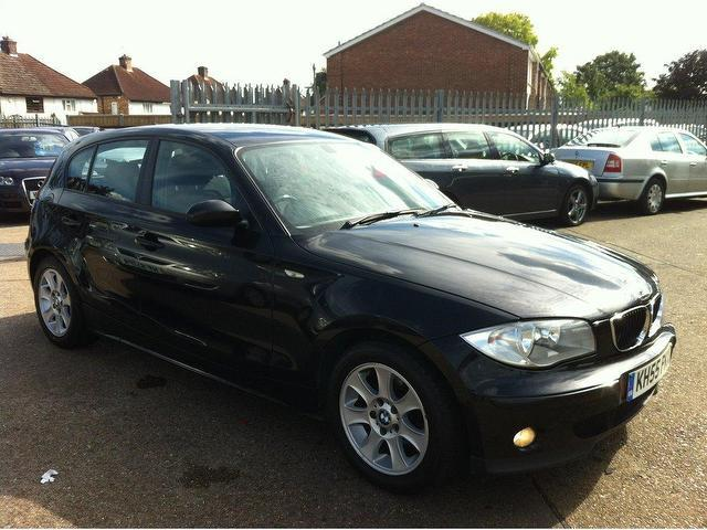 used bmw 1 series 2006 diesel 118d se 5dr hatchback black with air conditioning for sale autopazar. Black Bedroom Furniture Sets. Home Design Ideas