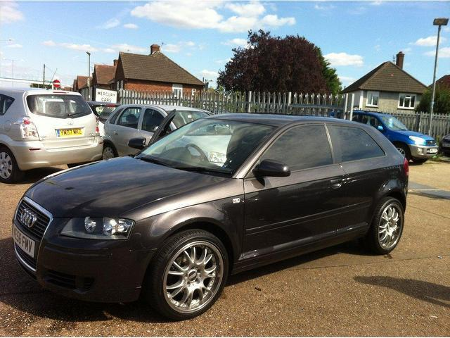used audi a3 2007 model 2 0 tdi 3dr diesel hatchback grey for sale in ashford uk autopazar. Black Bedroom Furniture Sets. Home Design Ideas