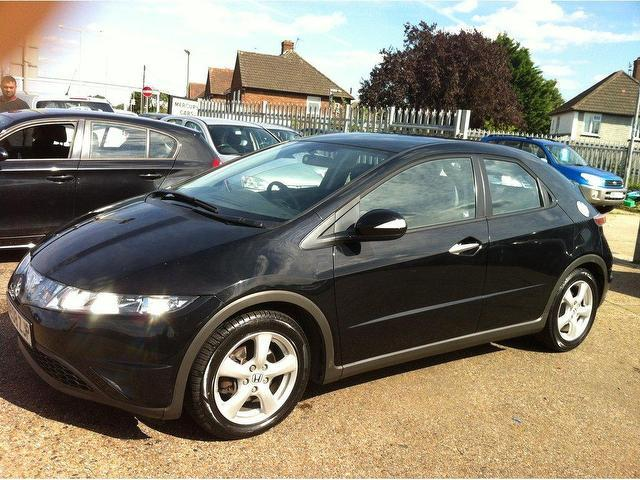 Used Honda Civic 2008 Diesel 2.2 I-ctdi Se 5dr Hatchback Black With Air Conditioning For Sale ...
