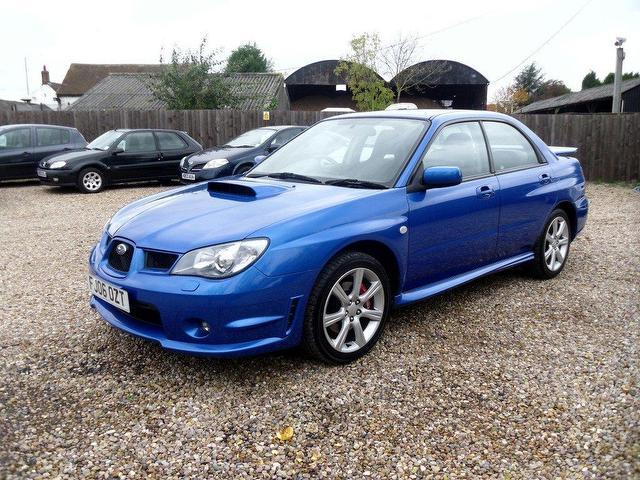 used subaru impreza 2006 petrol 2 5 wrx 4dr saloon blue with for sale autopazar. Black Bedroom Furniture Sets. Home Design Ideas