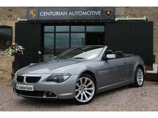 used grey bmw 6 series 2007 petrol 630i sport 2dr convertible excellent condition for sale. Black Bedroom Furniture Sets. Home Design Ideas