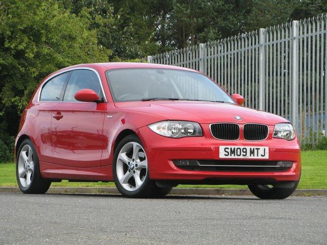 used bmw 1 series 2009 manual diesel 118d edition es red. Black Bedroom Furniture Sets. Home Design Ideas
