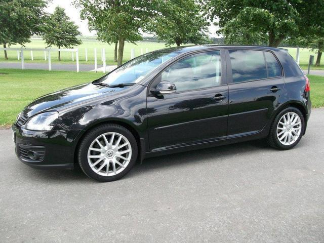 used black volkswagen golf 2007 diesel 2 0 gt sport tdi hatchback in good condition for sale. Black Bedroom Furniture Sets. Home Design Ideas