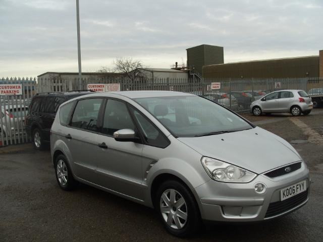 used ford s max 2006 diesel 1 8 tdci lx 5dr estate silver with air conditioning for sale autopazar. Black Bedroom Furniture Sets. Home Design Ideas