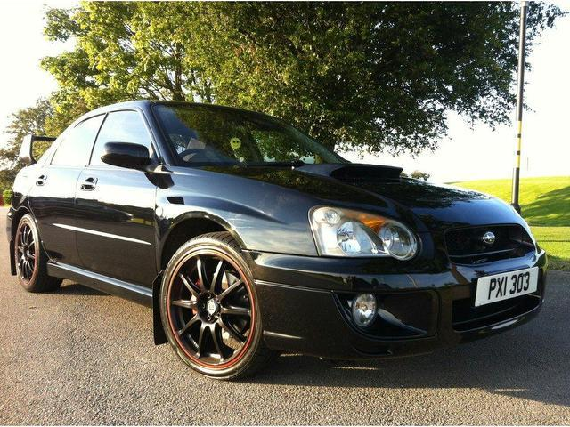 used 2004 subaru impreza saloon 2 0 wrx awd turbo petrol for sale in stoke on trent uk autopazar. Black Bedroom Furniture Sets. Home Design Ideas