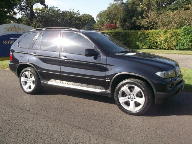 used bmw x5 2005 petrol v8 sport 5dr 4x4 black with airbag for driver sale autopazar. Black Bedroom Furniture Sets. Home Design Ideas