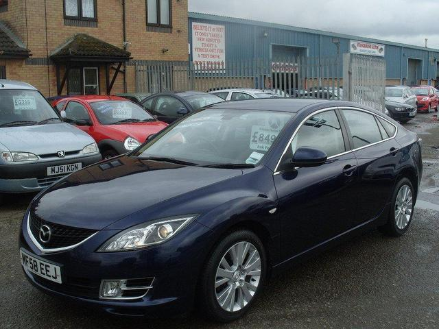 used mazda mazda6 2008 diesel ts2 4dr saloon blue with for sale autopazar. Black Bedroom Furniture Sets. Home Design Ideas