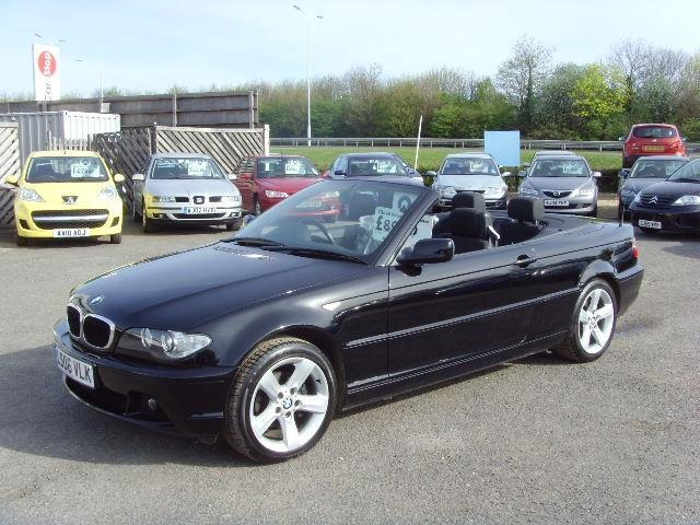 used bmw 3 series 2006 petrol 318 ci se convertible black edition for sale in fengate uk autopazar. Black Bedroom Furniture Sets. Home Design Ideas