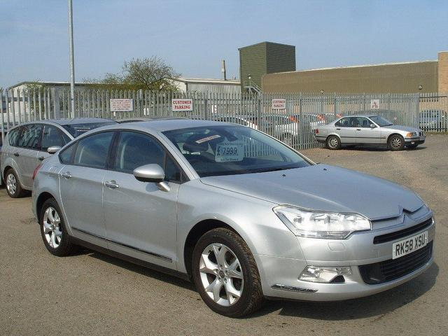 used citroen c5 car 2008 silver diesel 2 0 hdi 16v vtr saloon for sale in fengate uk autopazar. Black Bedroom Furniture Sets. Home Design Ideas