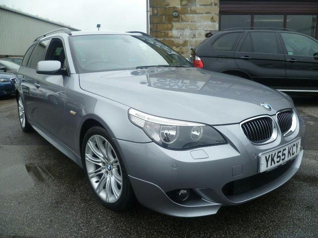 used bmw 5 series 2005 automatic diesel 535d m sport grey for sale uk autopazar. Black Bedroom Furniture Sets. Home Design Ideas