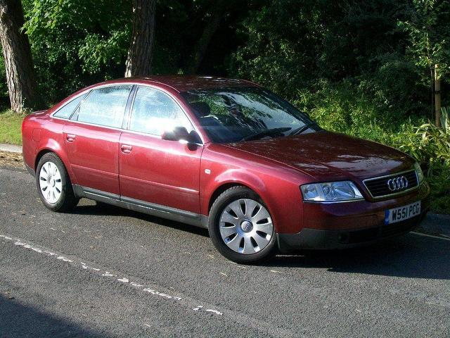 Used Audi A6 2000 Model 1.8 T Se 4dr Petrol Saloon Red For Sale In
