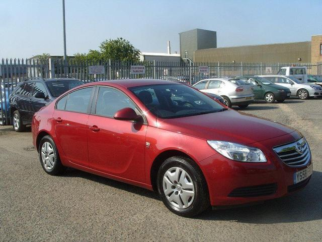 used vauxhall insignia car 2009 red diesel 2 0 cdti s 4 door saloon for sale in fengate uk. Black Bedroom Furniture Sets. Home Design Ideas