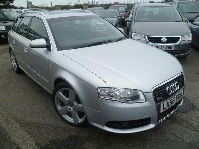 used audi a4 2006 diesel 2 0 tdi 170 s estate silver with. Black Bedroom Furniture Sets. Home Design Ideas