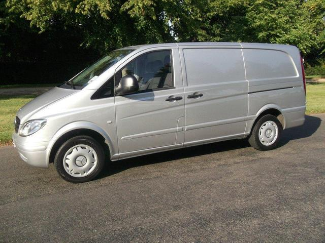 Used Mercedes Benz 2148 Cc 109 Cdi - Silver 2008 Diesel for Sale in UK