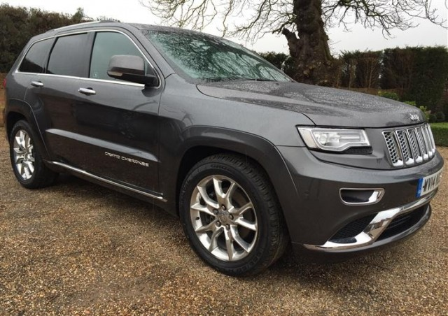 Used Jeep Grand Cherokee  Suv Gray 2014 Diesel for Sale in UK