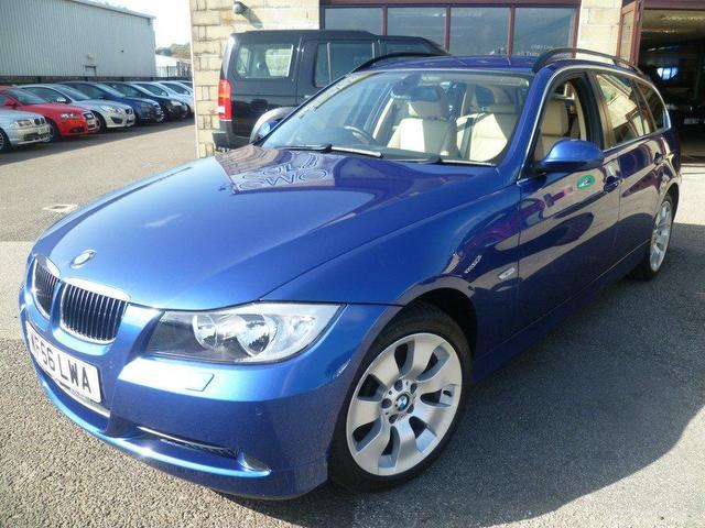 used bmw 3 series 2006 diesel 330d se 5dr estate blue edition for sale in penzance uk autopazar. Black Bedroom Furniture Sets. Home Design Ideas