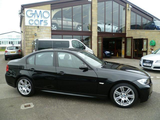 used black bmw 3 series 2006 diesel 320d m sport saloon. Black Bedroom Furniture Sets. Home Design Ideas