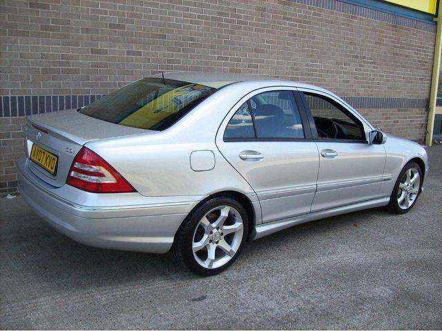 Used mercedes benz car 2007 silver diesel class c220 cdi for Used mercedes benz diesel for sale