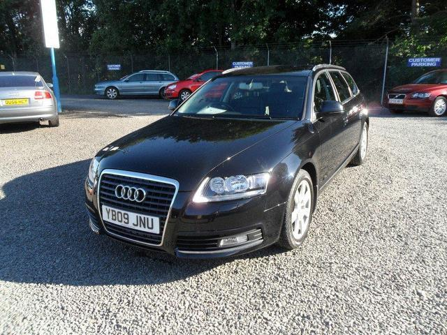 used black audi a6 2009 diesel 2 0 tdie se 5dr estate in. Black Bedroom Furniture Sets. Home Design Ideas