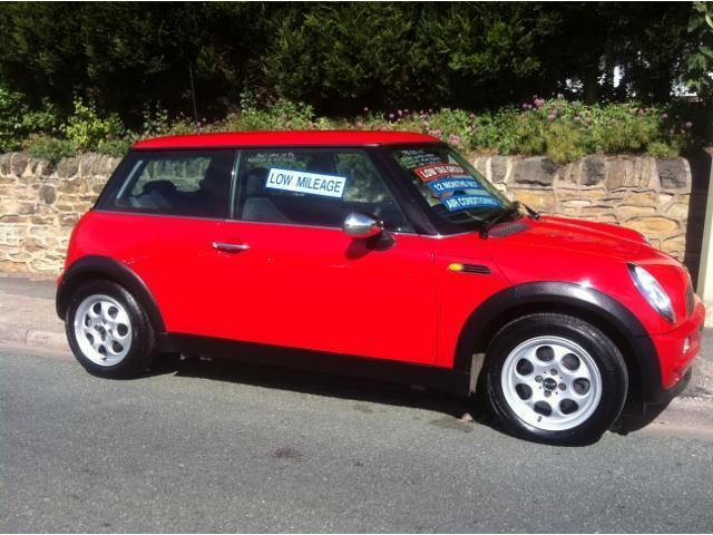 used mini one 2002 petrol 1 6 3dr hatchback red with for sale   autopazar