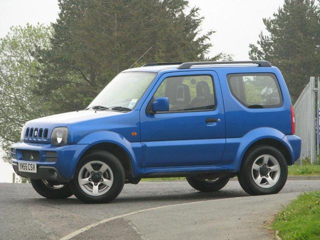 used suzuki jimny 2006 blue edition petrol 1 3 vvt jlx 3 door estate for sale in turrif uk. Black Bedroom Furniture Sets. Home Design Ideas
