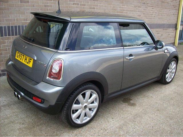 used 2007 mini 1 6 hatchback grey edition cooper s chilli pack petrol for sale in norwich uk. Black Bedroom Furniture Sets. Home Design Ideas