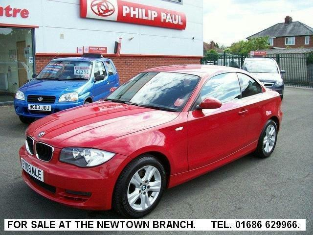 Used Bmw 1 Series 2008 Diesel 120d Es 2dr Coupe Red Edition For Sale ...