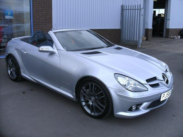used silver mercedes benz 2006 petrol 200k 2dr tip auto convertible
