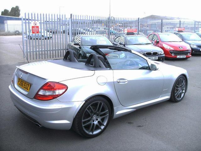 Used silver mercedes benz 2006 petrol 200k 2dr tip auto for Used convertible mercedes benz for sale