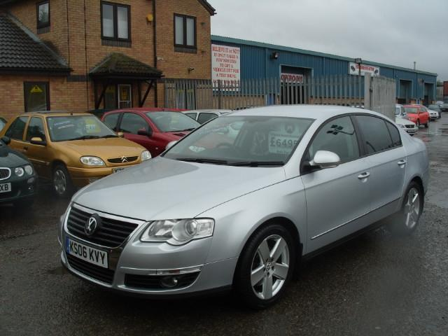used volkswagen passat 2006 model 2 0 sport tdi 4dr diesel saloon silver for sale in fengate uk. Black Bedroom Furniture Sets. Home Design Ideas