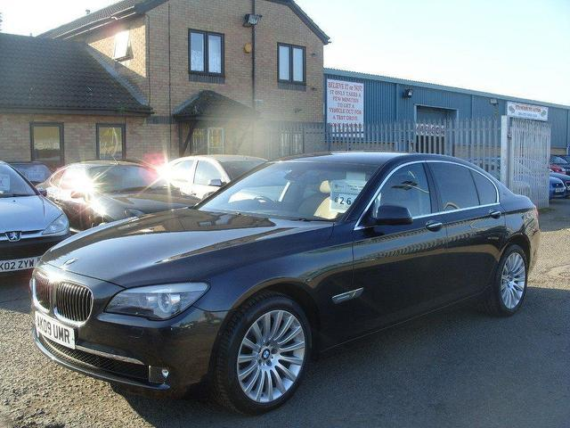 Used Bmw 7 Series 2009 Grey Edition Diesel 730d Se 4 Door Saloon For ...
