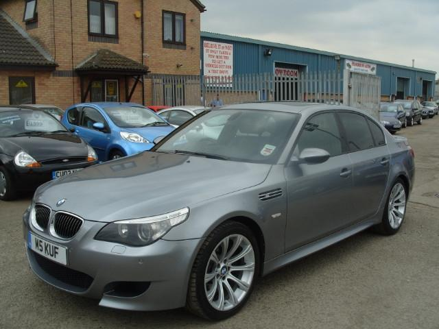 Used Grey Bmw M Petrol Dr Smg Saloon Excellent - 2005 bmw m5