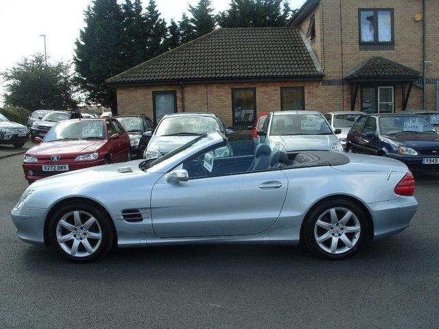 used mercedes benz 2005 petrol class sl 350 2dr convertible silver with for sale autopazar. Black Bedroom Furniture Sets. Home Design Ideas