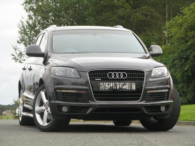 used audi q7 2007 diesel 3 0 tdi quattro s 4x4 grey with. Black Bedroom Furniture Sets. Home Design Ideas