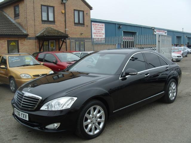 Used mercedes benz 2006 diesel class s320 cdi 4dr saloon for Used mercedes benz sale