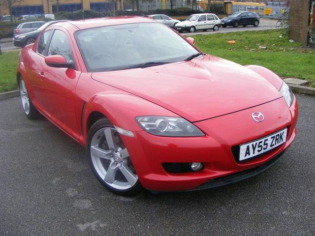 used mazda rx8 2005 red paint petrol 4dr 192 leather coupe for sale in wembley uk autopazar. Black Bedroom Furniture Sets. Home Design Ideas
