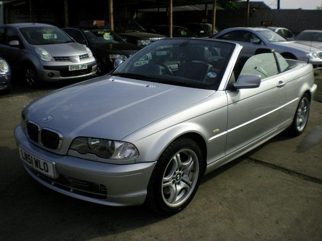 Used Bmw 3 Series 330 Ci 2 Door Convertible Silver 2001 Petrol For Sale In UK