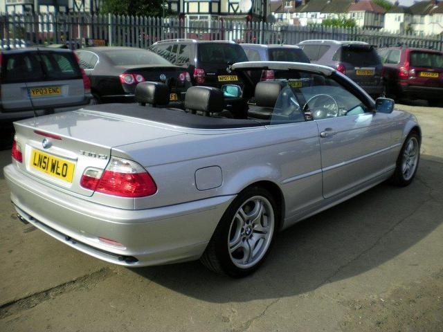used 2001 bmw 3 series convertible silver edition 330 ci 2dr petrol for sale in wembley uk. Black Bedroom Furniture Sets. Home Design Ideas