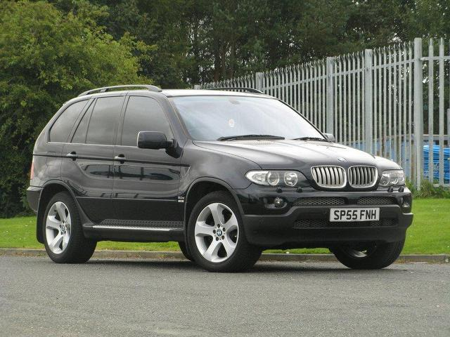 used bmw x5 2005 black paint diesel sport 5dr auto. Black Bedroom Furniture Sets. Home Design Ideas
