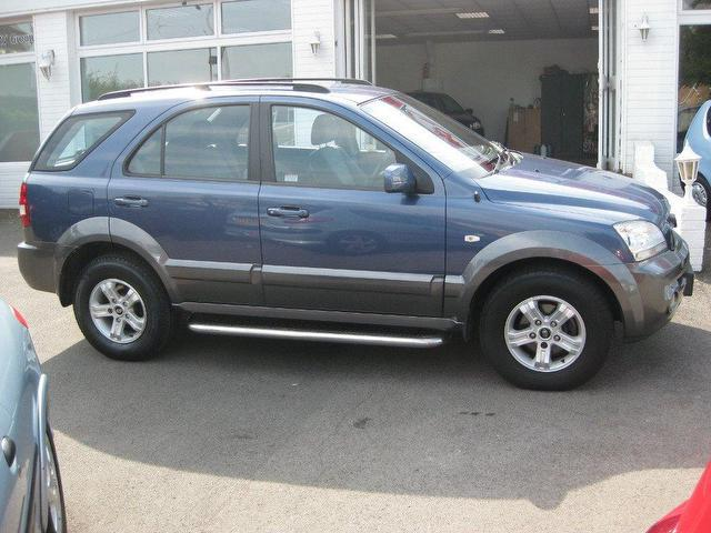 used kia sorento 2005 blue paint diesel 2 5 crdi xe 5 4x4 for sale in sittingbourne uk autopazar. Black Bedroom Furniture Sets. Home Design Ideas