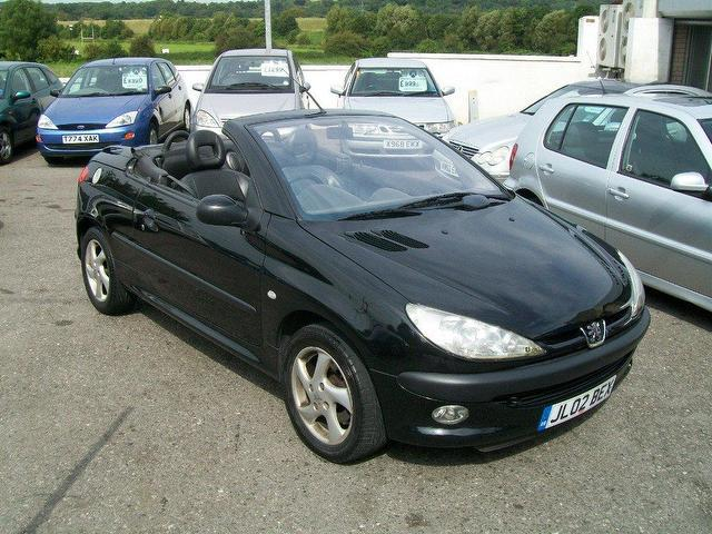 used peugeot 206 for sale in convertible uk autopazar. Black Bedroom Furniture Sets. Home Design Ideas