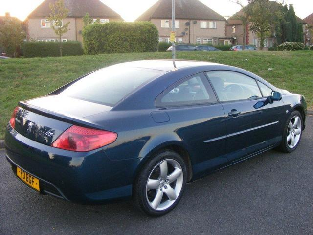 used peugeot 407 2007 petrol 3 0 v6 se 2dr coupe blue with. Black Bedroom Furniture Sets. Home Design Ideas