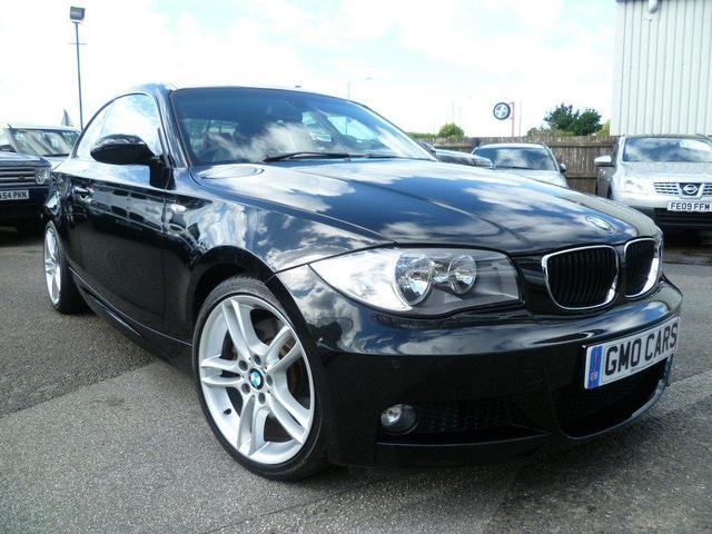 used bmw 1 series car 2008 black diesel 123d m sport coupe for sale in penzance uk autopazar. Black Bedroom Furniture Sets. Home Design Ideas