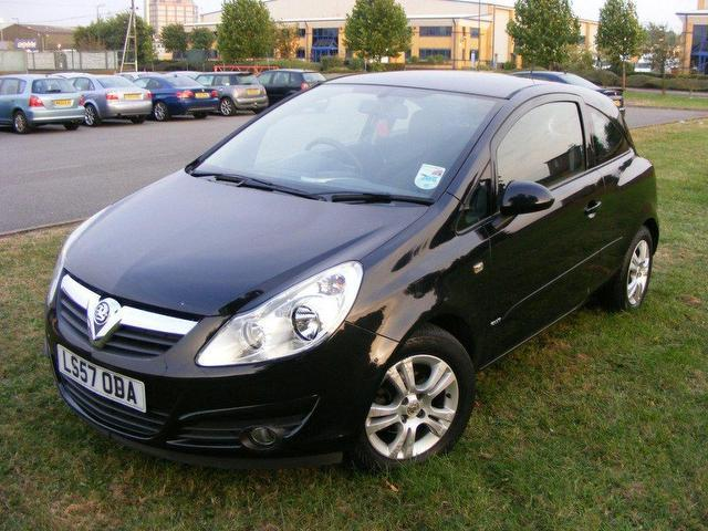 used vauxhall corsa 2007 diesel 16v club 3dr estate blue edition for sale in wembley uk. Black Bedroom Furniture Sets. Home Design Ideas